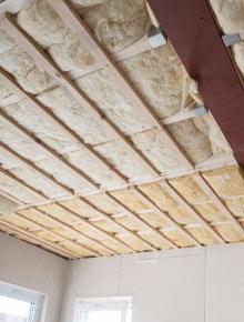 plat dak isoleren langs binnen